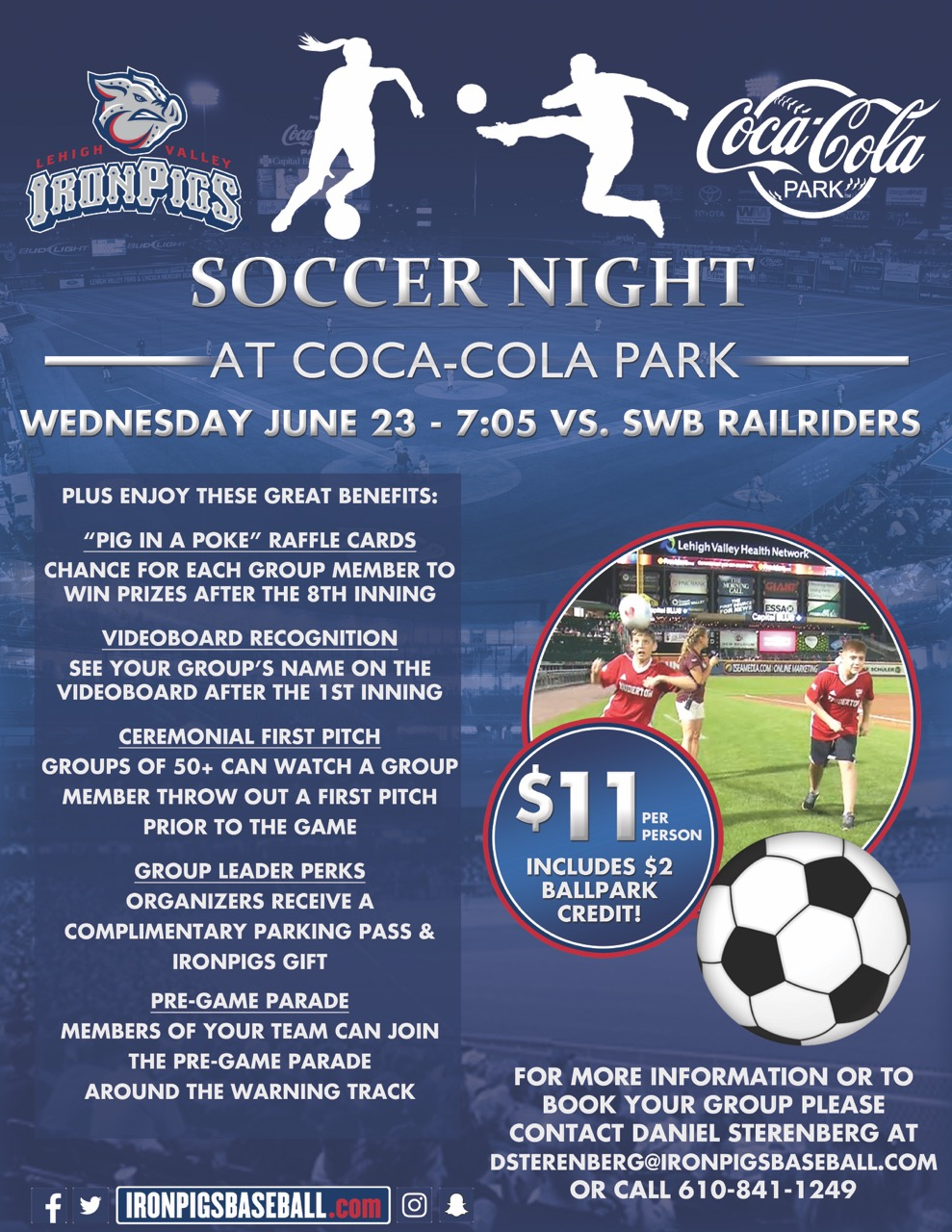 BSC Night at the IronPigs June 23